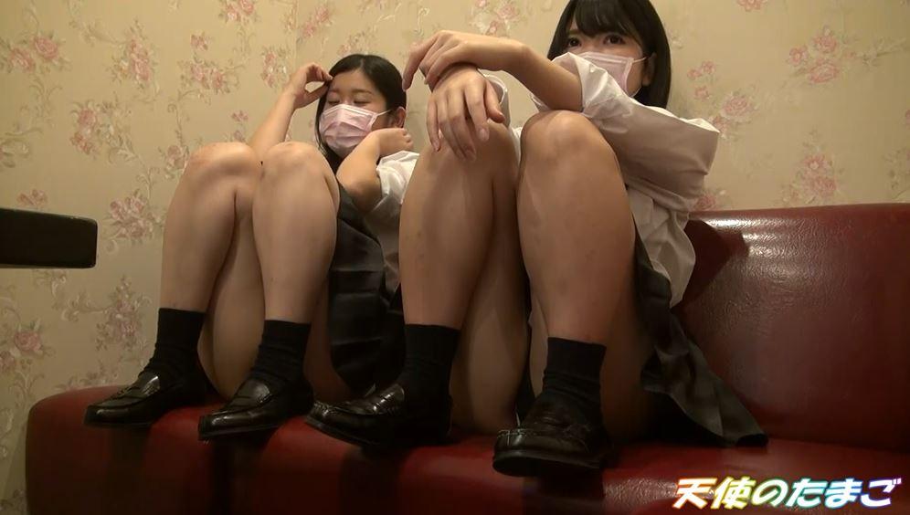 【ハメ撮り】2人の制服女子がカラオケボックスで3Pする問題のAVがこちらwwwwwwwwwwww・10枚目