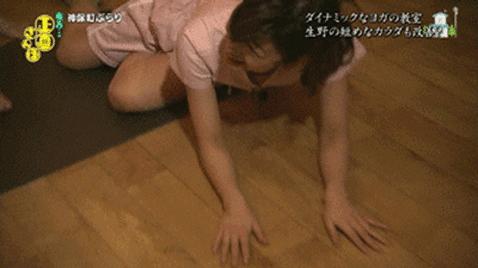 【有能】女子アナのハプニング貼ってくスレwwwカットしないというスタッフの悪意wwwwwwwwwww(GIFあり)・1枚目