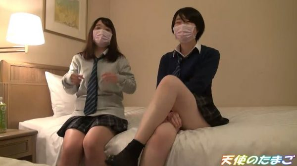 【素人注意】JK2人のプリケツをガン突きする援〇動画がヤバい…・2枚目