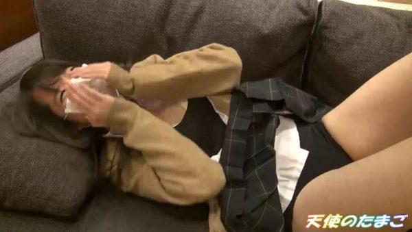 【援○】お金くれたらハメ撮りまでしてしまう素人JKのリアルSEXがこちらwwww・11枚目