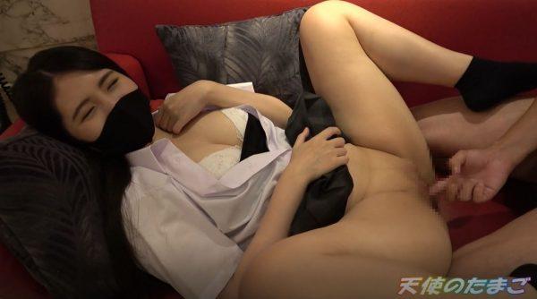【巨乳JK】制服姿のGカップ美少女、オッサンの激しいピストン&大量中出しで妊娠確定・・・・(画像37枚)・23枚目